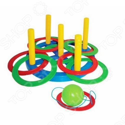 Кольцеброс + поймай шарик: 2 в 1