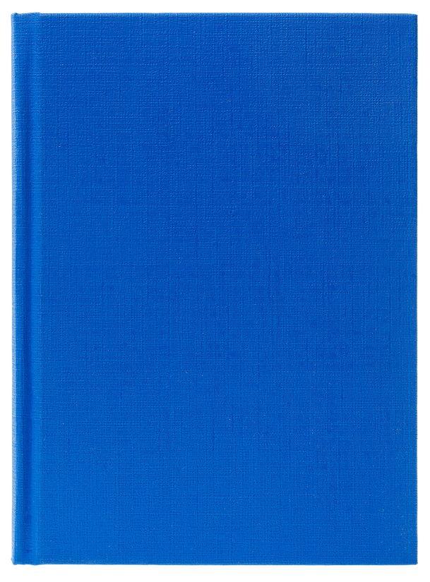 Зап. книжка А6 96л Бумвинил Синий
