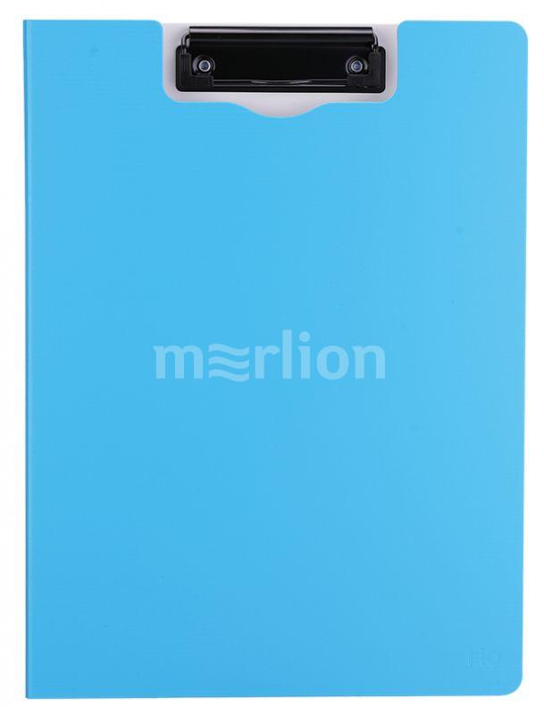 Папка-планшет А4 двойной пластик ассорти вертикальный