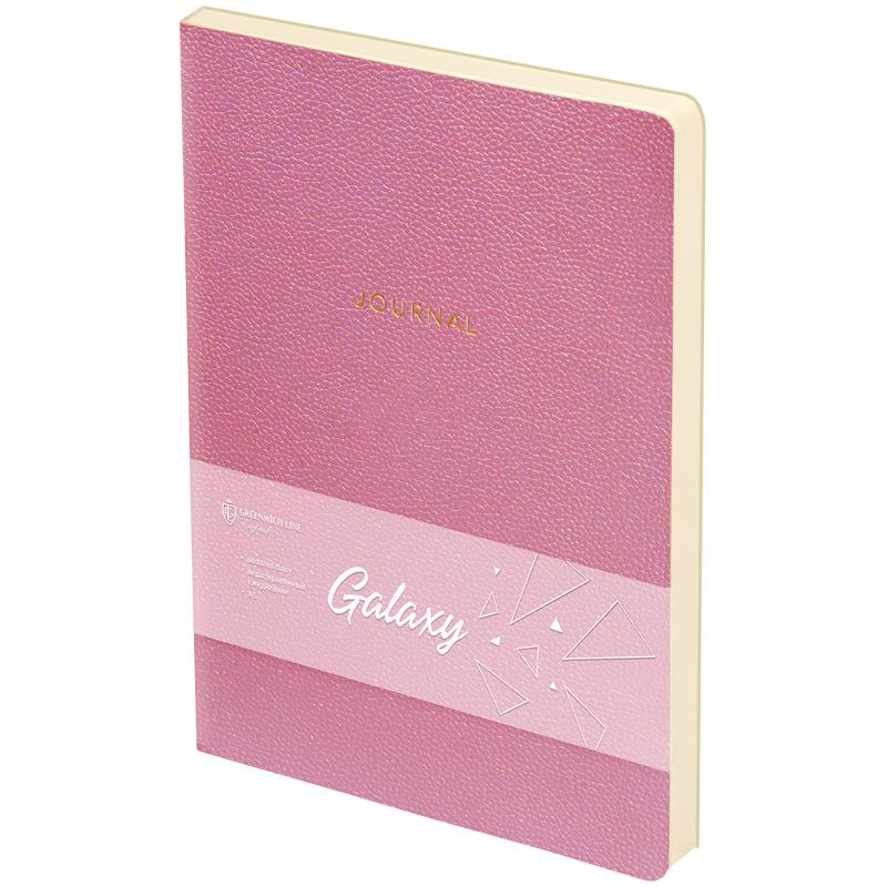 Ежедневник А5 Greenwich line Galaxy розовый