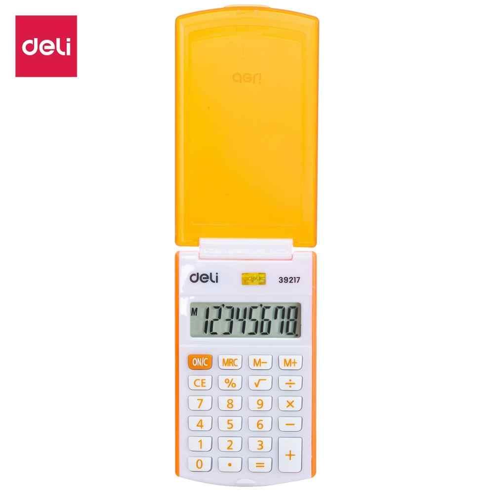 Калькулятор 8 разр. Deli карманный ассорти