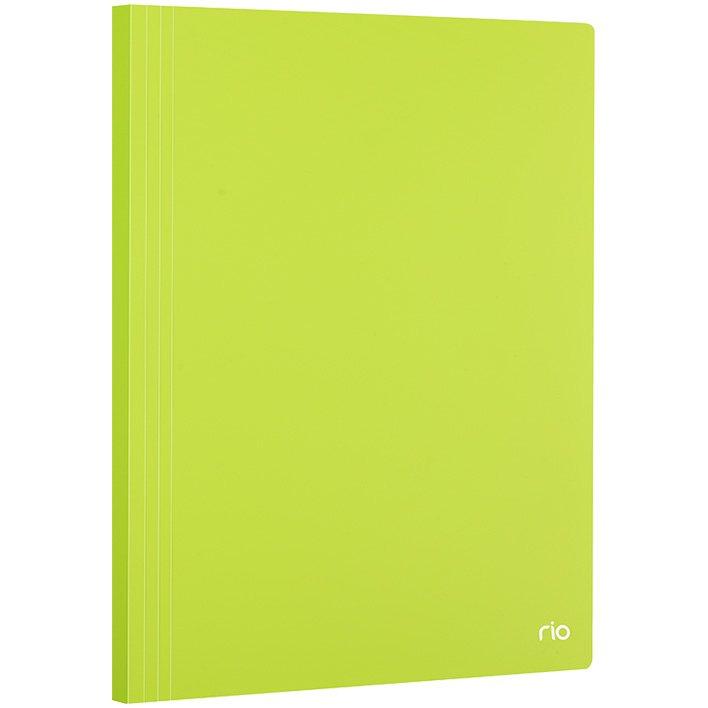 Папка-файл А4 40л Deli Rio ассорти