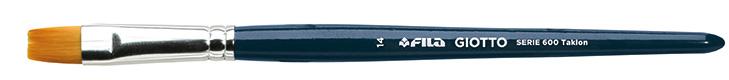 Кисть синтетика № 14 плоская GIOTTO BRUSH ART 600