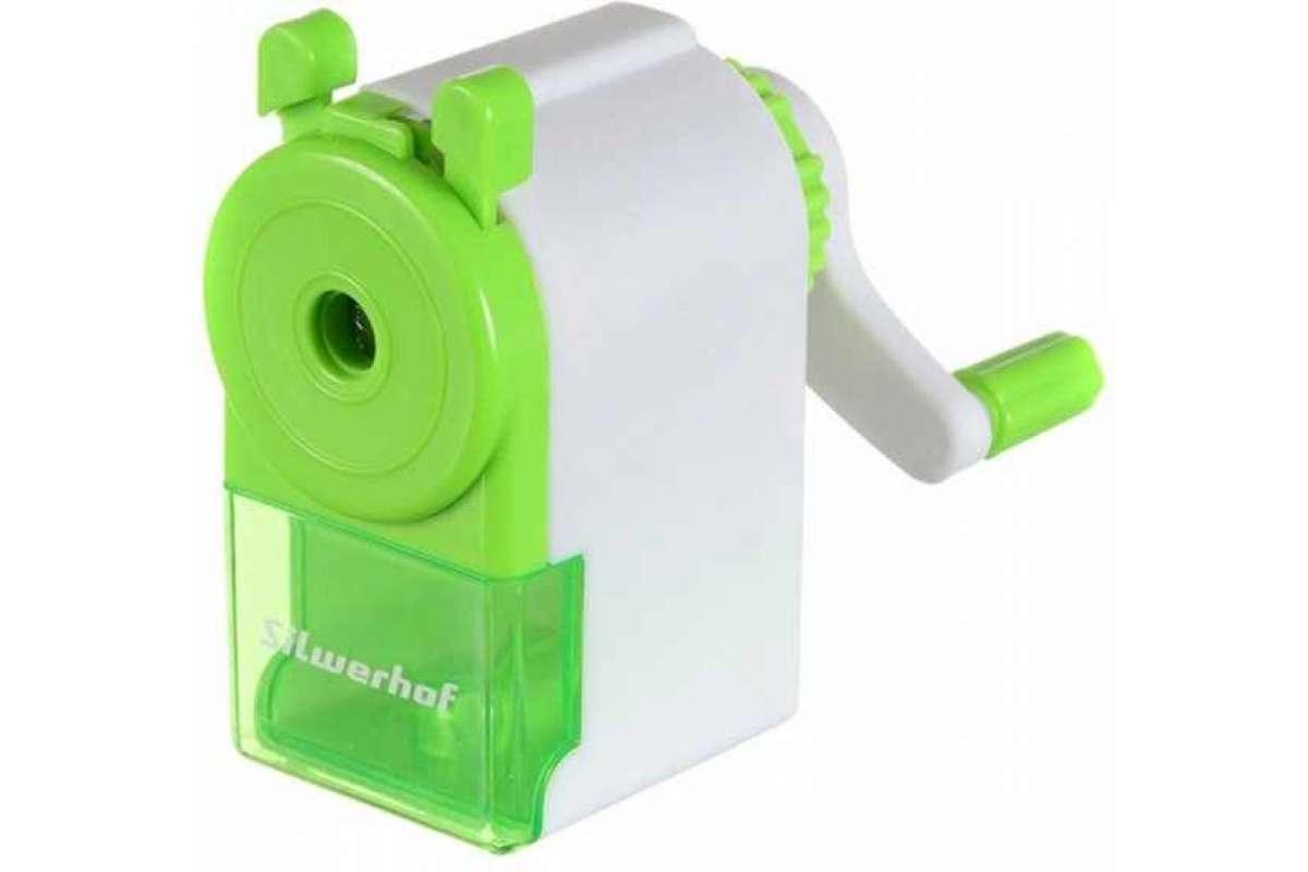 Точилка механическая Silwerhof Солнечная коллекция зеленый