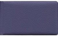 Визитница гориз фиолетовая ПВХ