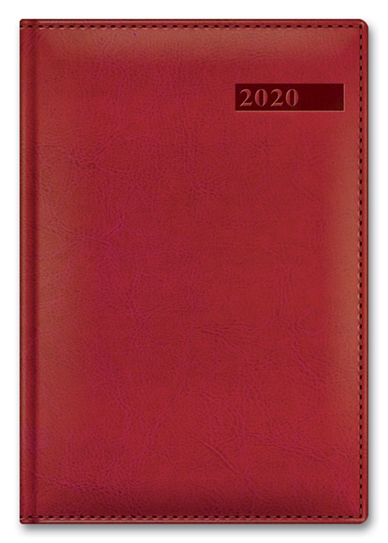 Распродажа Ежедневник А5 2020г SARIF IMAGE Красный