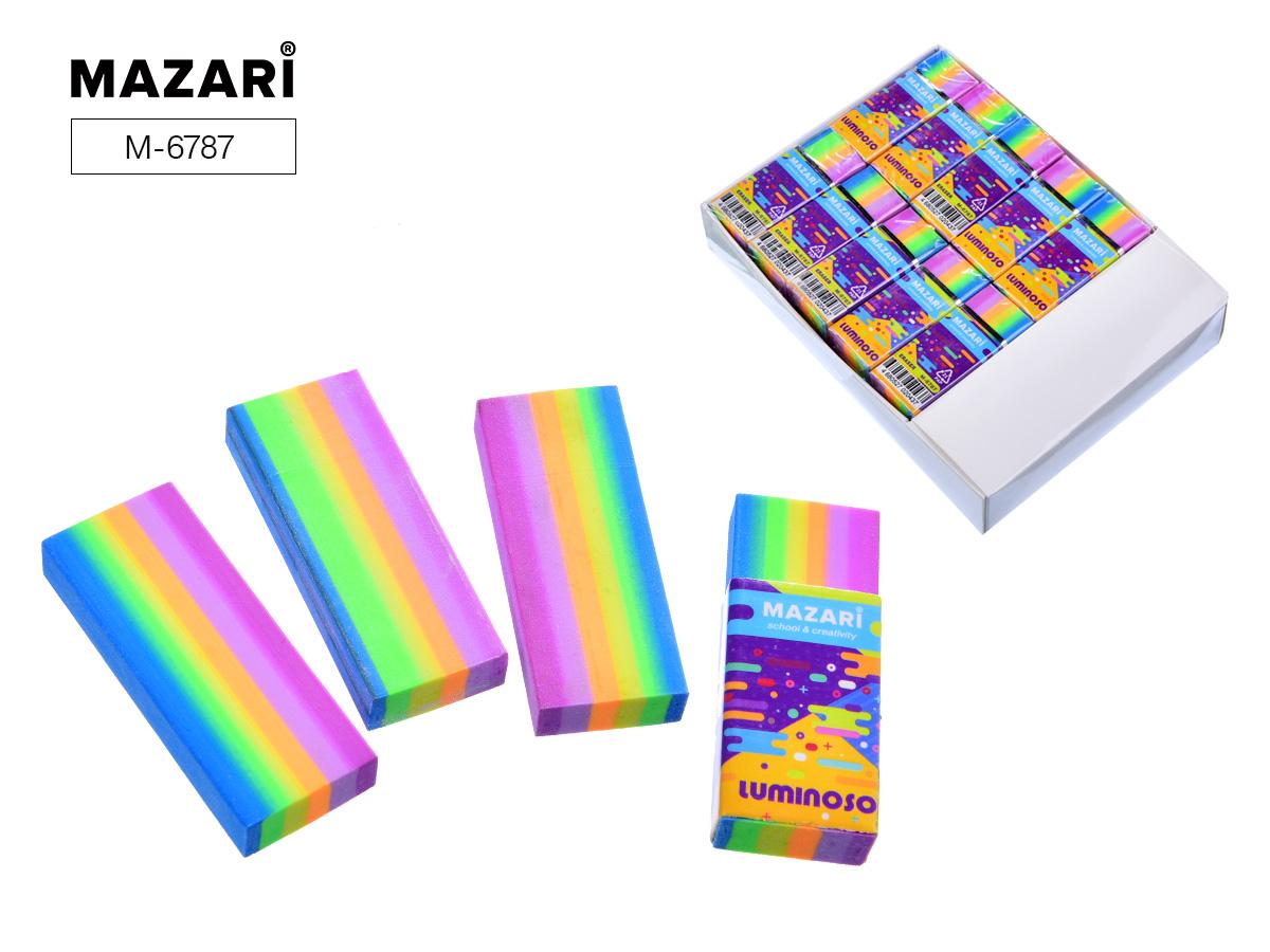 Ластик Mazari Luminoso прямоугольный 55*23*10