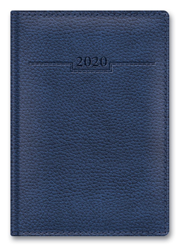 Ежедневник А6 2020г ARMONIA ELEFANT Синий