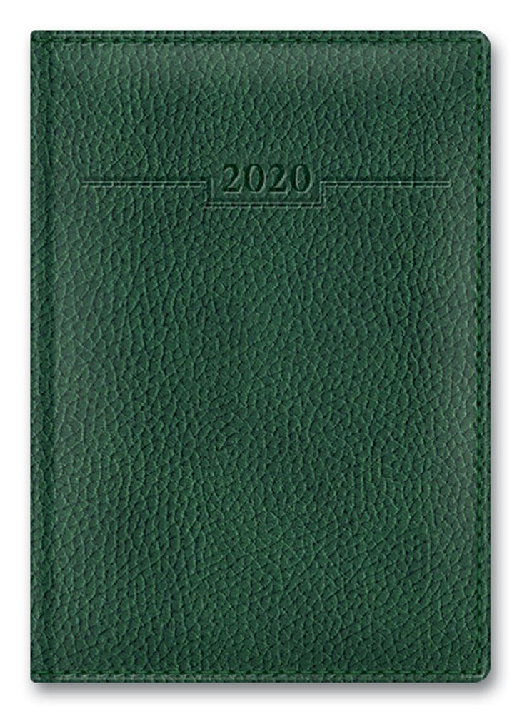 Ежедневник А6 2020г ARMONIA ELEFANT Зеленый