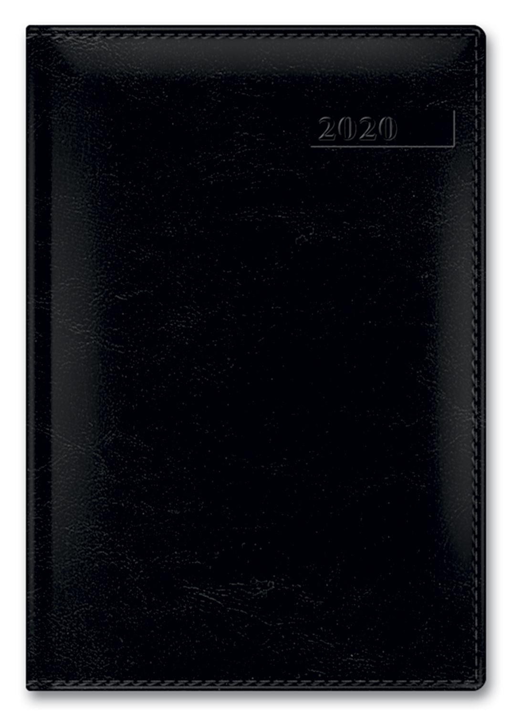 Ежедневник А5 2020г SARIF IMAGE Черный