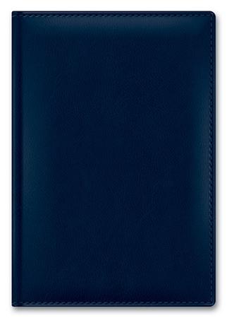 Ежедневник А5 2020г CAPRICE THERMO SILVER Темно-синий