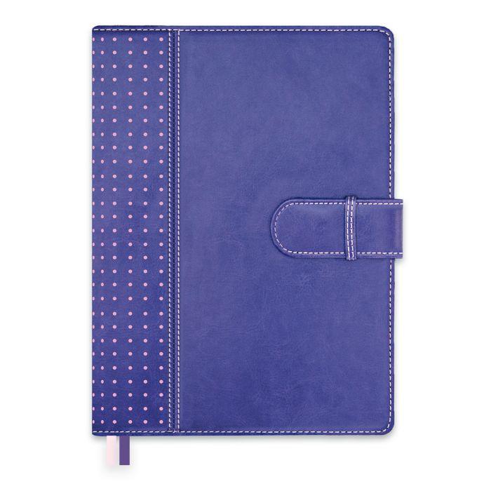 Ежедневник А5+ Escalada органайзер Сариф фиолетовый полудат