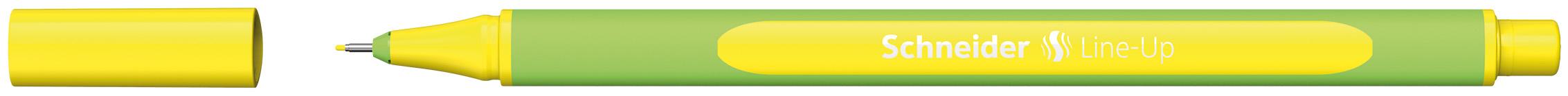Ручка капиллярная Schneider Line-Up неоновый-желтый 0.4мм