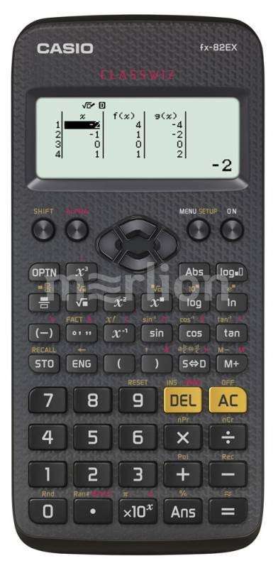 Калькулятор 10+2 разр. Casio Classwiz черный