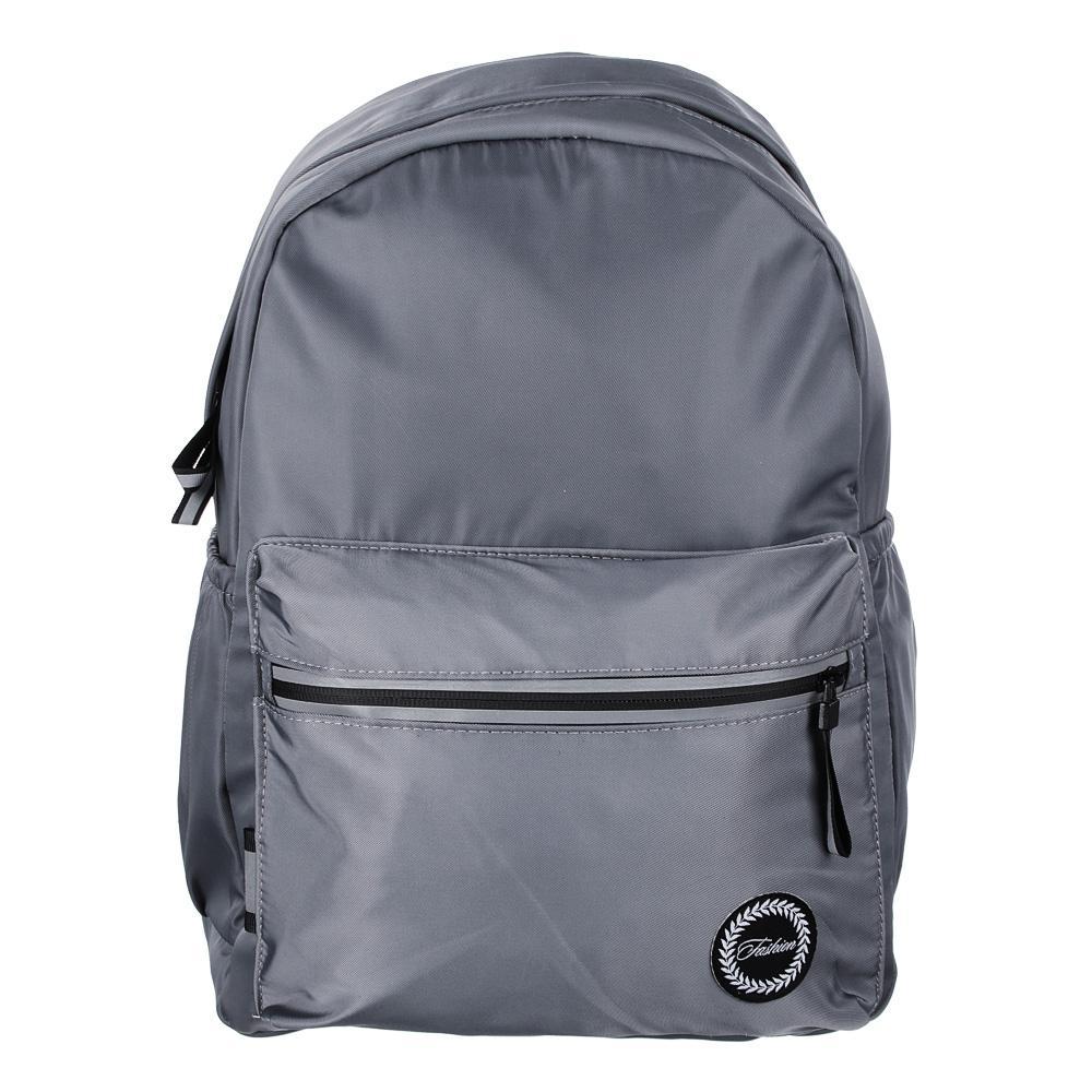 Рюкзак молодежный Clipstudio Серый розовый 40*28*16