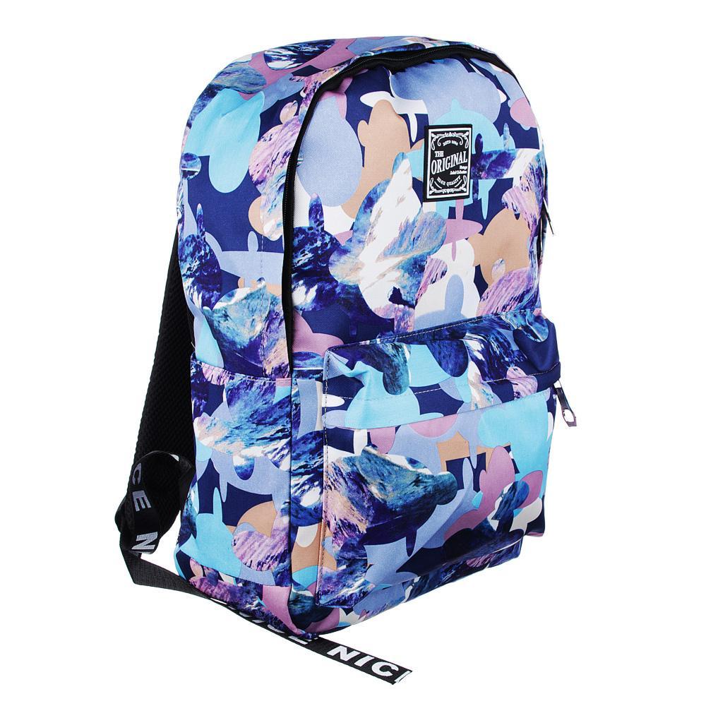 Рюкзак молодежный Clipstudio Узор рисунок цветной
