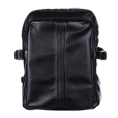 Рюкзак молодежный Clipstudio Черный кожзам