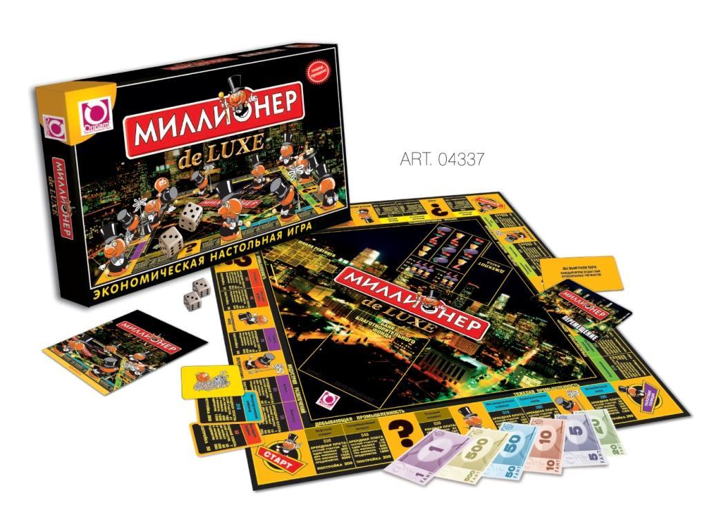 Настольная Миллионер de Luxe: Экономическая настольная игра