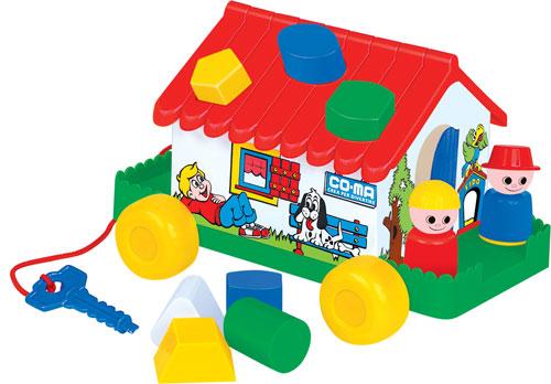 Развивающая Игровой дом пласт