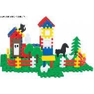 АКЦИЯ-20 Игр Конструктор Семья: 120 элементов пластмас. (в мешке)