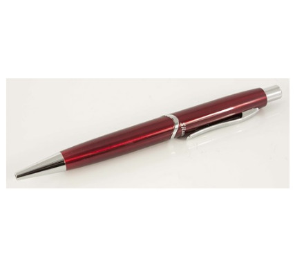 Ручка подар. Silwerhof Welle красный корпус авт к/к