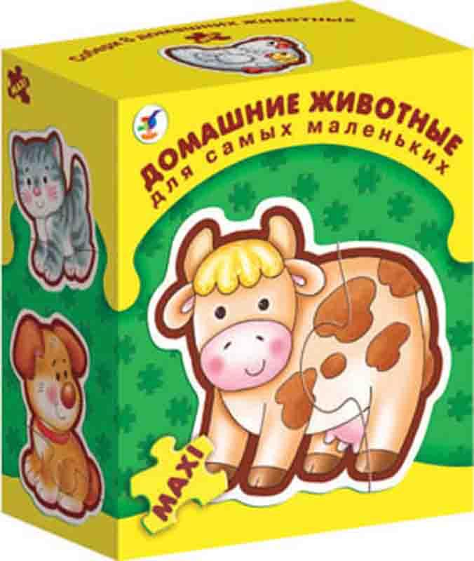 Пазл Maxi Домашние животные для самых маленьких