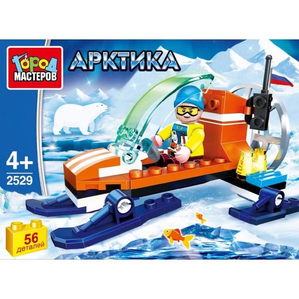 Конструктор Арктика с фигуркой 56дет.
