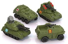 Машина Военная техника мини 4шт.х9см