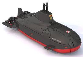 Подводная лодка Илья Муромец 41см
