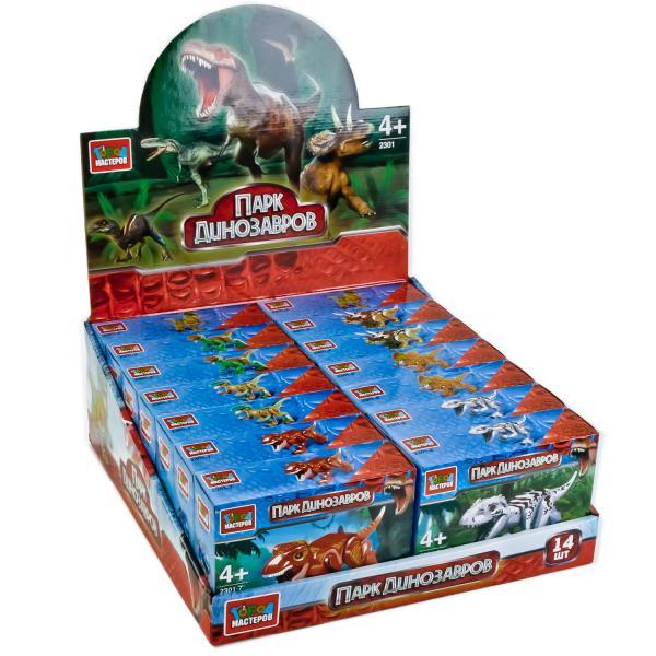 Конструктор Динозавры: фигурка ассорт.