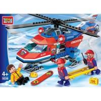 Конструктор Вертолет горных спасателей 190дет.