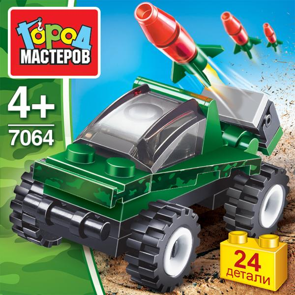 Конструктор Ракетная установка 24дет.