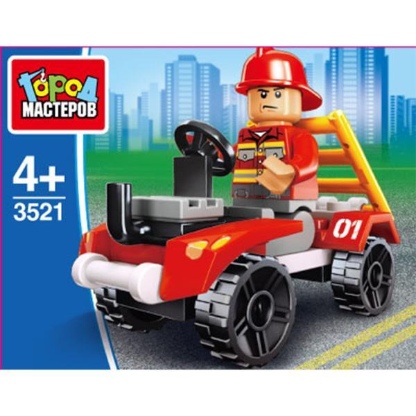 Конструктор Пожарная служба: машина 27дет.