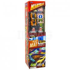 Игра Коврик Megapolis с машинкой и аксессуарами ассорти туба