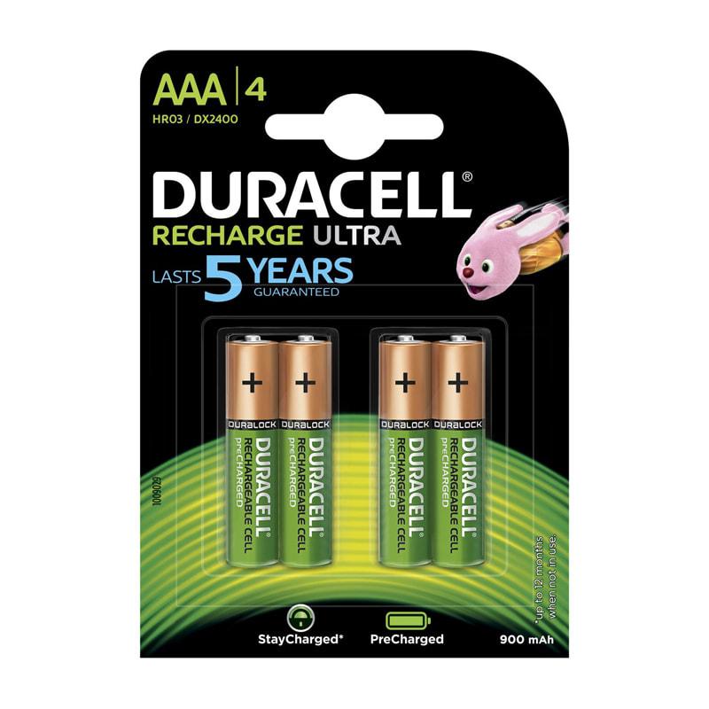 Батарейка-аккумулятор AAА мизинч Duracell 900mAh (1 ШТУКА)