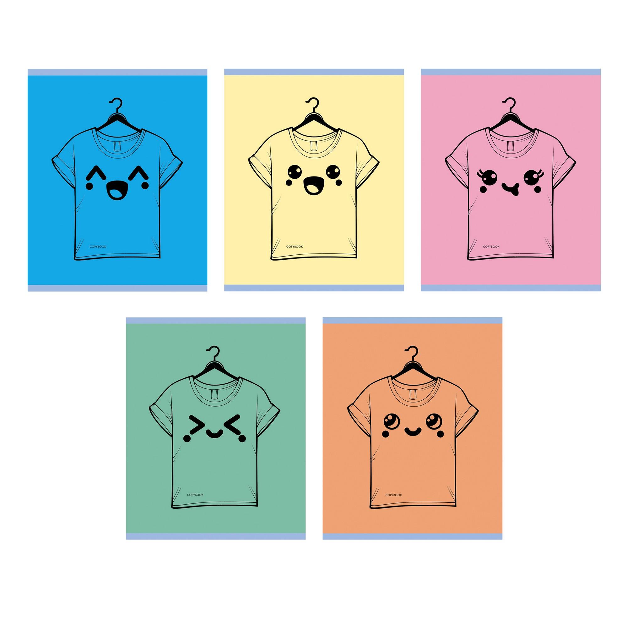 Тетрадь 48л кл Любимая футболка