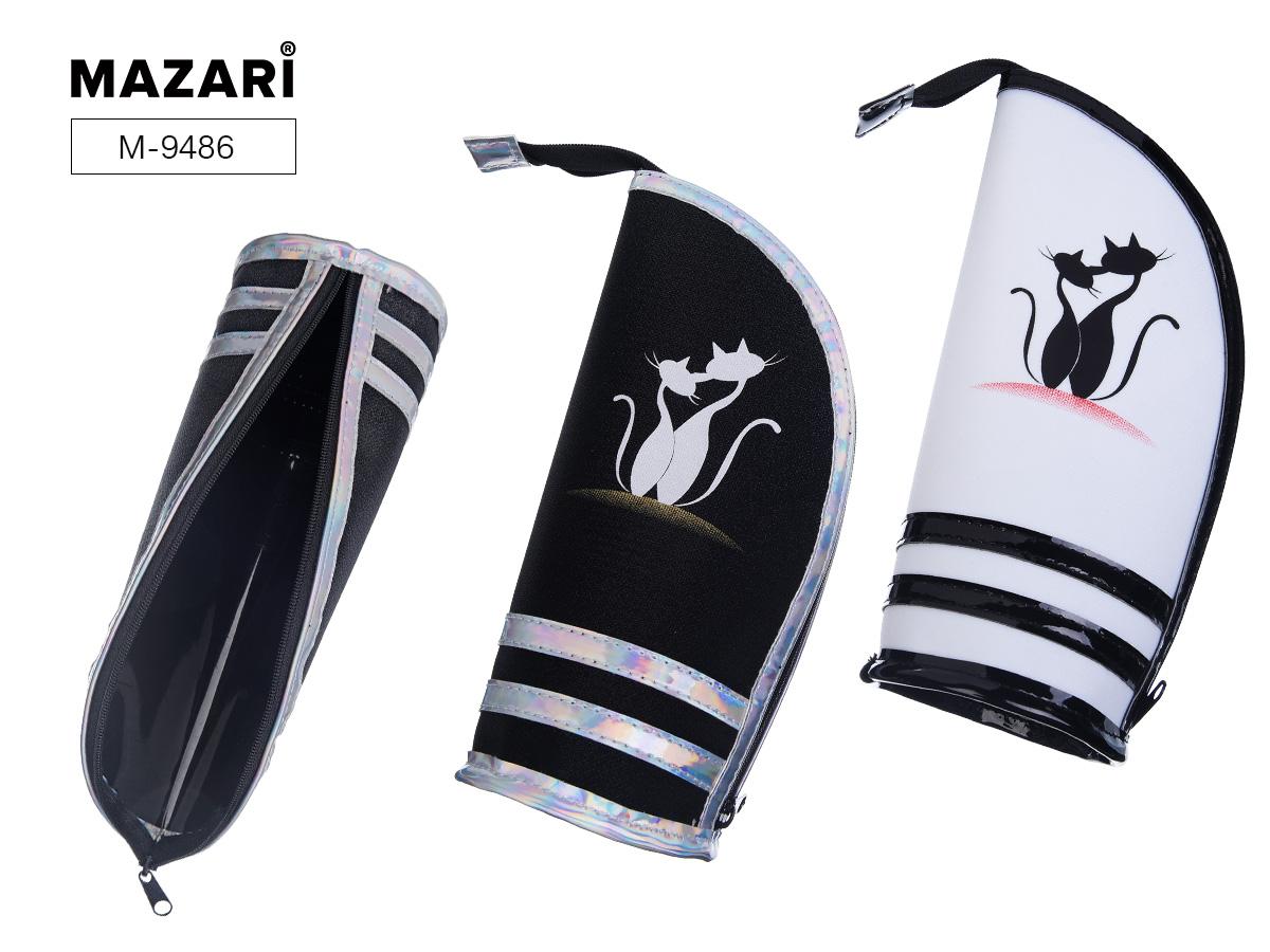 Пенал-косметичка Mazari Cute Cats ПВХ ассорти 2 цвета