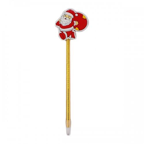 Ручка шариковая синяя сув НГ Mazari Santa 0.7мм 6 дизайнов