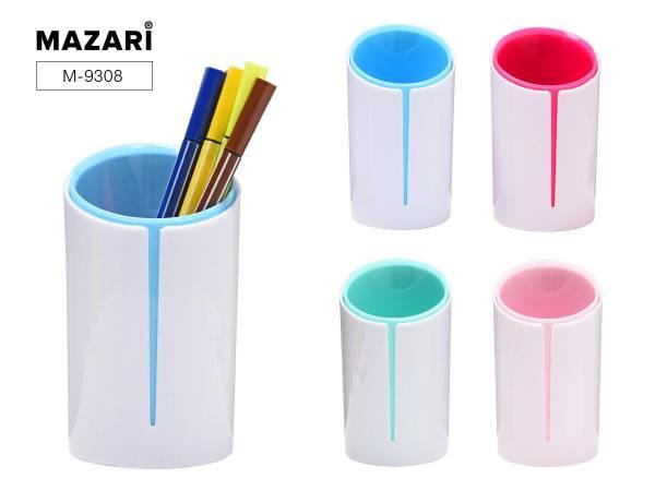 Подставка д/пиш. принадл. Marzri Color pair ассорти 4 цвета