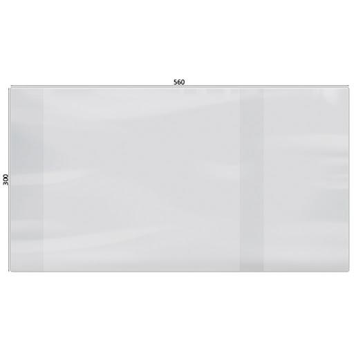 Обложка А4 универс 300*580 100мк для конт. карт учебн тетр ПВХ