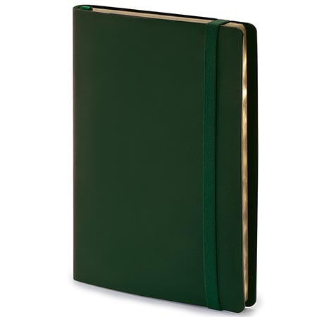 Ежедневник А5 BV Oxford зеленый на резинке