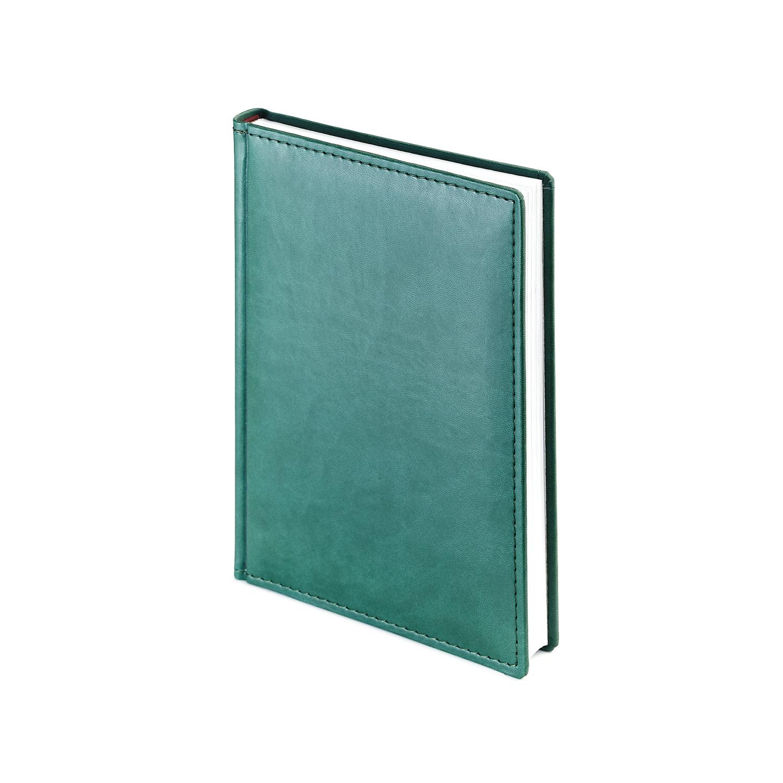 Ежедневник А5 2021г Velvet зеленый