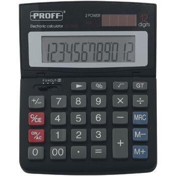 Калькулятор 12 разр. Proff подъемный дисплей