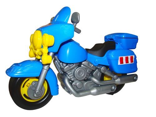 "Мотоцикл ""Харлей"" пластмас."