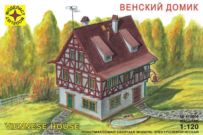 Сборная модель Венский домик