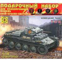 """Сборная модель Немецкий танк """"Т-II D"""" 1:35"""