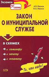 Закон о муниципальной службе в схемах: учебное пособие