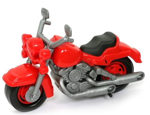 """Мотоцикл гоночный """"Кросс"""" пластмас."""