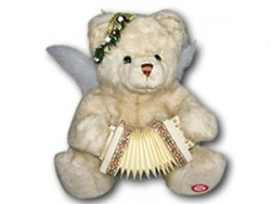 АКЦИЯ19 Анимированная игрушка 7610 Медведь с гармошкой (играет на гармошке)