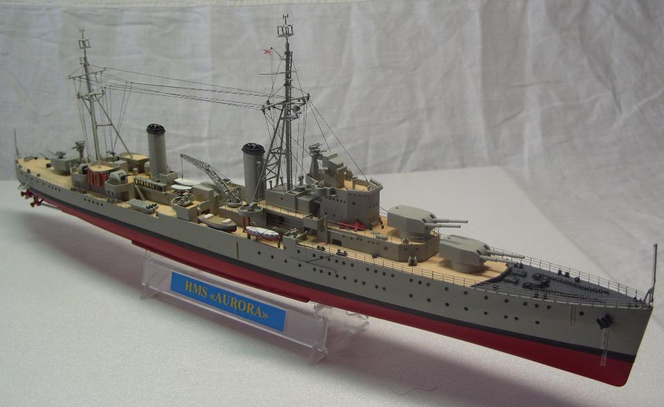 Сборная модель Крейсер Аврора 1:400